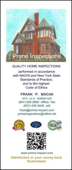 PRIME INSPECTIONS - home inspection services